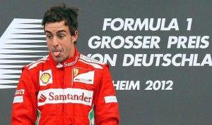F1: ALONSO VINCE IL GP DI GERMANIA, VETTEL SECONDO