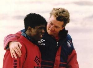 Van Gaal e Clarence Seedorf ai tempi dell'Ajax